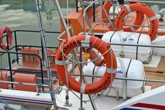 Detalhe do barco Imagens de Stock