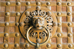 Detalhe do botão de porta foto de stock royalty free