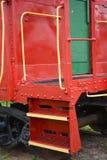 Detalhe do Caboose Fotografia de Stock Royalty Free