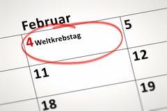Detalhe do calendário Fotografia de Stock