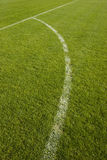 Detalhe do campo de futebol Imagem de Stock Royalty Free