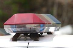 Detalhe do carro de polícia Fotografia de Stock Royalty Free