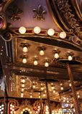 Detalhe do carrossel do vintage Fotografia de Stock Royalty Free