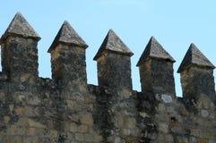 Detalhe do castelo fotografia de stock royalty free