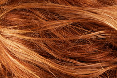 Detalhe do close up da textura do fundo do cabelo Fotografia de Stock