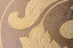 Detalhe do close-up de papéis de parede decorativos Imagens de Stock Royalty Free