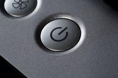 Detalhe do computador do teclado do portátil Fotografia de Stock Royalty Free