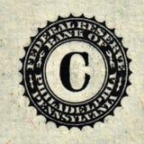 Detalhe do dólar Foto de Stock