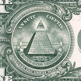 Detalhe do dólar americano Fotografia de Stock Royalty Free