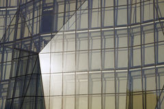 Detalhe do edifício - avenida de Michigan foto de stock
