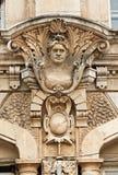 Detalhe do edifício em Rousse Bulgária Fotos de Stock
