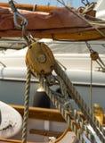 Detalhe do equipamento de bloco Fotos de Stock Royalty Free