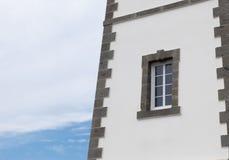 Detalhe do farol com janela Imagens de Stock