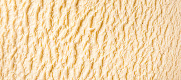 Detalhe do gelado de Bourbon da baunilha fotos de stock royalty free