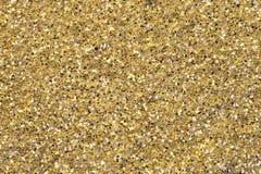 Detalhe do Glitter do amarelo do ouro Imagem de Stock Royalty Free