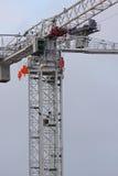 Detalhe do guindaste de torre Fotos de Stock