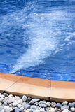 Detalhe do Jacuzzi Foto de Stock