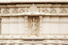 Detalhe do Mandir Shri Swaminarayan Temple em Toronto, Canadá fotos de stock