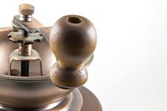 Detalhe do moedor de café Fotografia de Stock