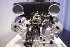 Detalhe do motor de BMW fotografia de stock