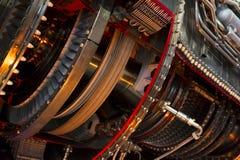 Detalhe do motor de jato fotos de stock
