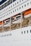 Detalhe do navio de cruzeiros Fotografia de Stock