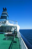 Detalhe do navio de cruzeiros Fotos de Stock