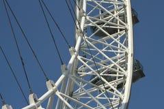 Detalhe do olho de Londres Foto de Stock Royalty Free
