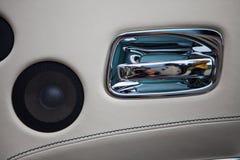 Detalhe do orador do carro Imagem de Stock