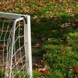 Detalhe do outono no campo de jogos das crianças Fotografia de Stock Royalty Free