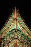 Detalhe do palácio de Gyeongbokgung Fotografia de Stock Royalty Free