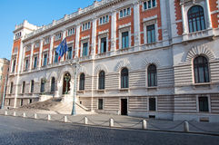 Detalhe do Palazzo Montecitorio, Roma, Itália. Fotografia de Stock Royalty Free