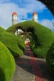 Detalhe do parque de Zarcero Fotos de Stock