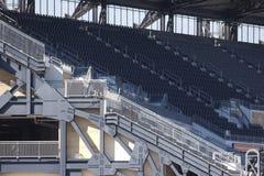 Detalhe do parque do basebol de Pittsburgh imagem de stock royalty free