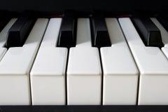 Detalhe do piano Fotos de Stock Royalty Free