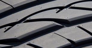 Detalhe do pneu Imagens de Stock