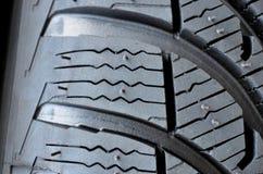Detalhe do pneu Fotos de Stock