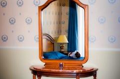 Detalhe do quarto de hotel Imagens de Stock