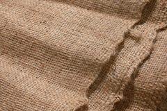 Detalhe do saco de Gunny para o fundo fotos de stock