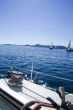 Detalhe do Sailboat Imagem de Stock