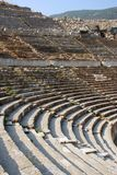 Detalhe do teatro antigo no ephesus Foto de Stock