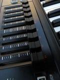 Detalhe do teclado de Roland Imagens de Stock