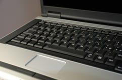 Detalhe do teclado do computador portátil Imagem de Stock Royalty Free