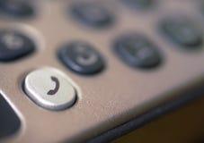 Detalhe do teclado do telefone móvel. Imagens de Stock