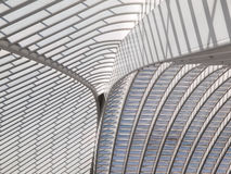Detalhe do telhado de arquitetura moderna fotos de stock