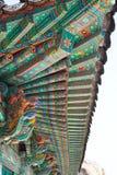 Detalhe do telhado de arquitetura tradicional Foto de Stock Royalty Free