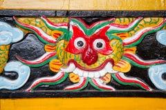 Detalhe do templo Fotos de Stock Royalty Free