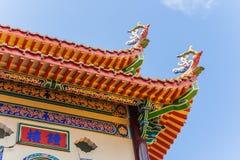 Detalhe do templo budista Fotografia de Stock Royalty Free