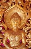 Detalhe do templo budista Imagem de Stock Royalty Free