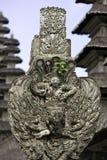 Detalhe do templo de Bali foto de stock